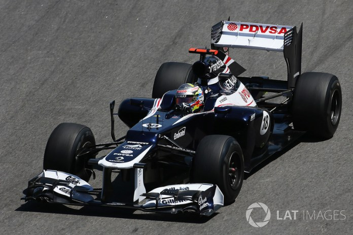 Pastor Maldonado, Williams-Renault FW34, 2012
