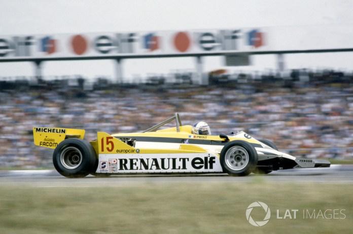 61: Alain Prost, Renault RE30