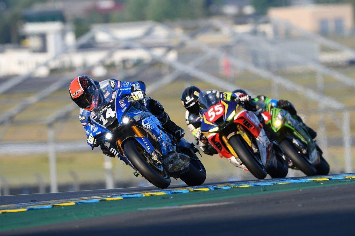 # 14 MACO Racing Team: Gregory Leblanc, Enzo Boulom, Charles Diller