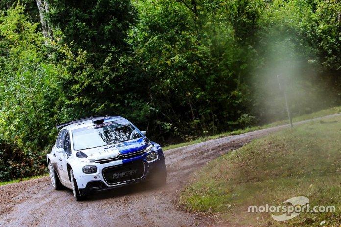Valtteri Bottas, PH Sport prova la Citroen R5