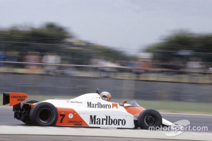 John Watson, McLaren MP4/1 Ford Cosworth (1981-1982)