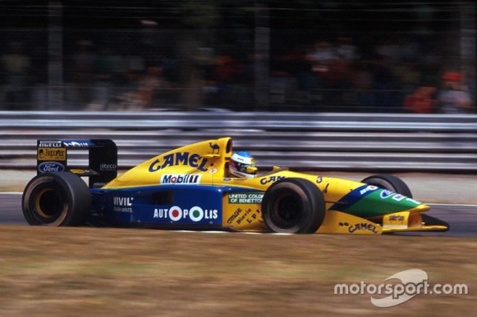 1991: cambio a Benetton