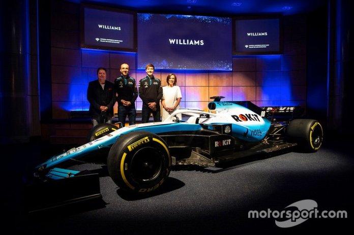 Presentación del Williams FW42