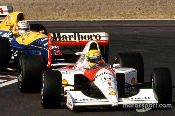 1991: Suzuka pelea por el título del mundo con Ayrton Senna