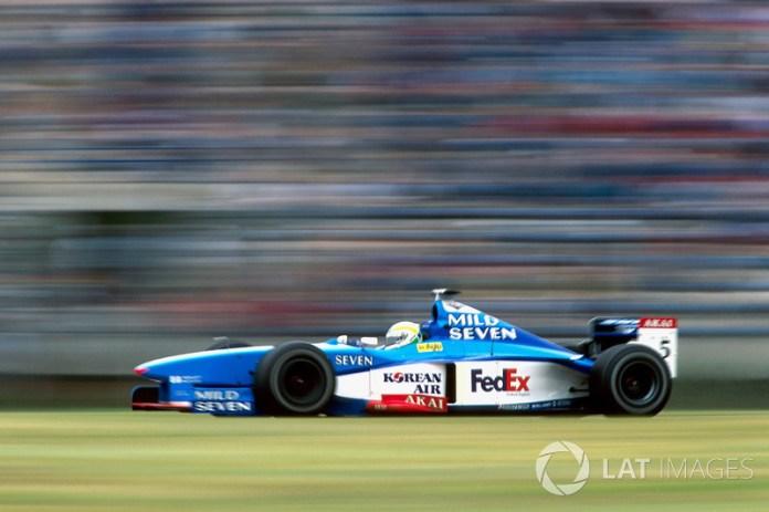80: Giancarlo Fisichella, Benetton Playlife B198