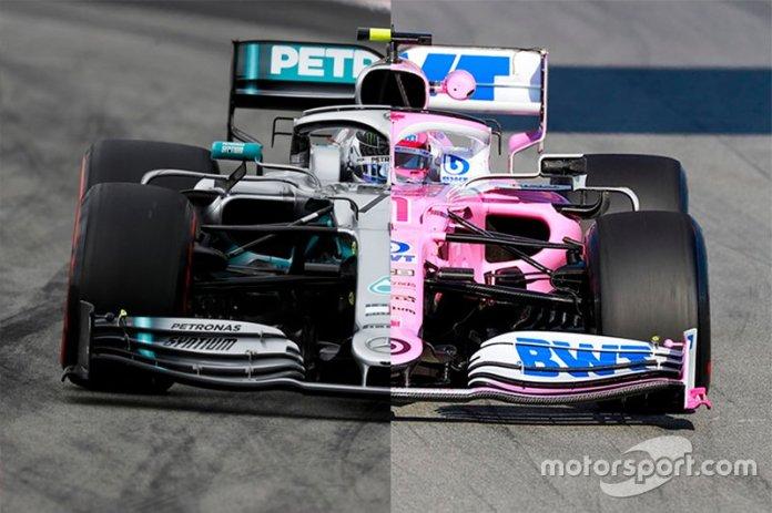 Comparación Mercedes-Racing Point