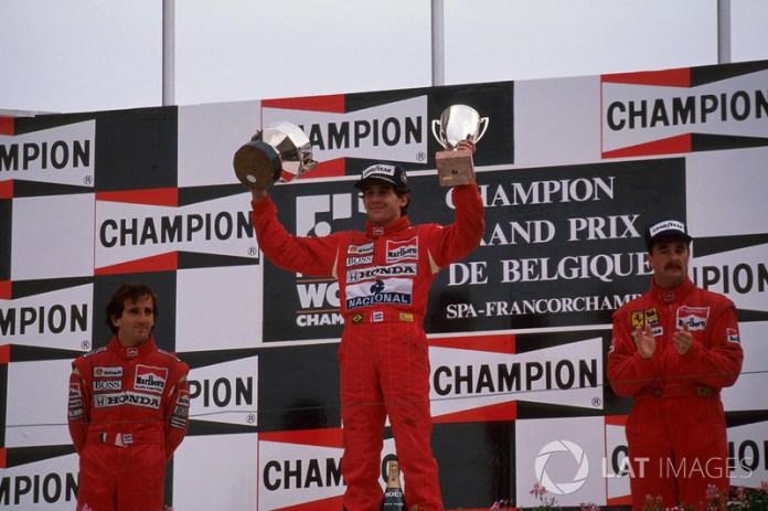 26. GP de Bélgica 1989: Ayrton Senna y Alain Prost (McLaren)
