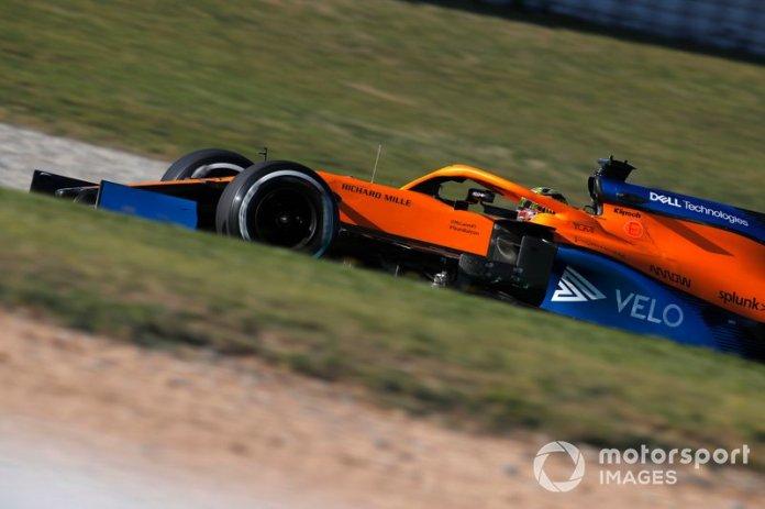 20º Lando Norris, McLaren MCL35: 1:17.573 (con neumáticos C2)