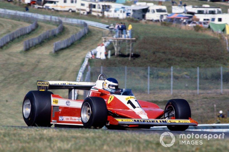 Carlos Reutemann, Ferrari 312T3, at the 1978 United States GP
