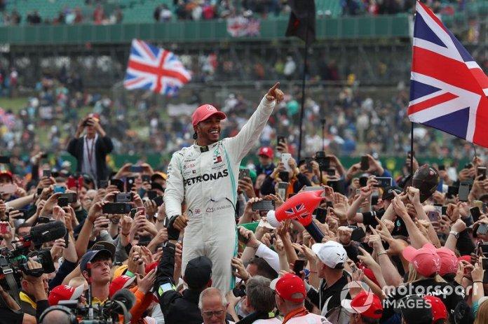 80 GP de Gran Bretaña 2019, Mercedes