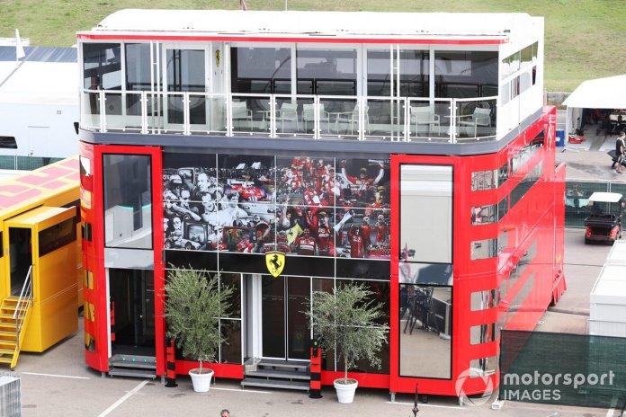 Ferrari en Mugello