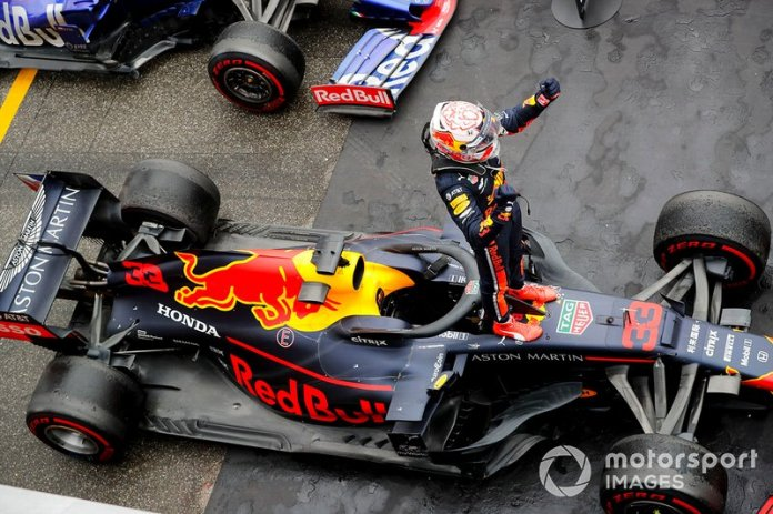 GP de Alemania, Max Verstappen, Red Bull