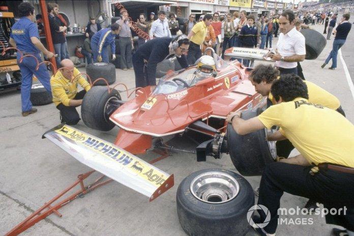 Jody Scheckter, Ferrari, Mauro Forghieri