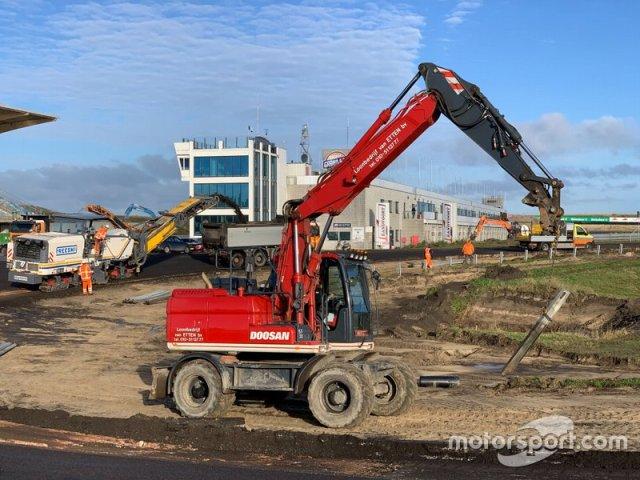 Renovation Circuit Zandvoort