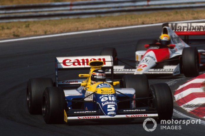 71: Thierry Boutsen, Williams