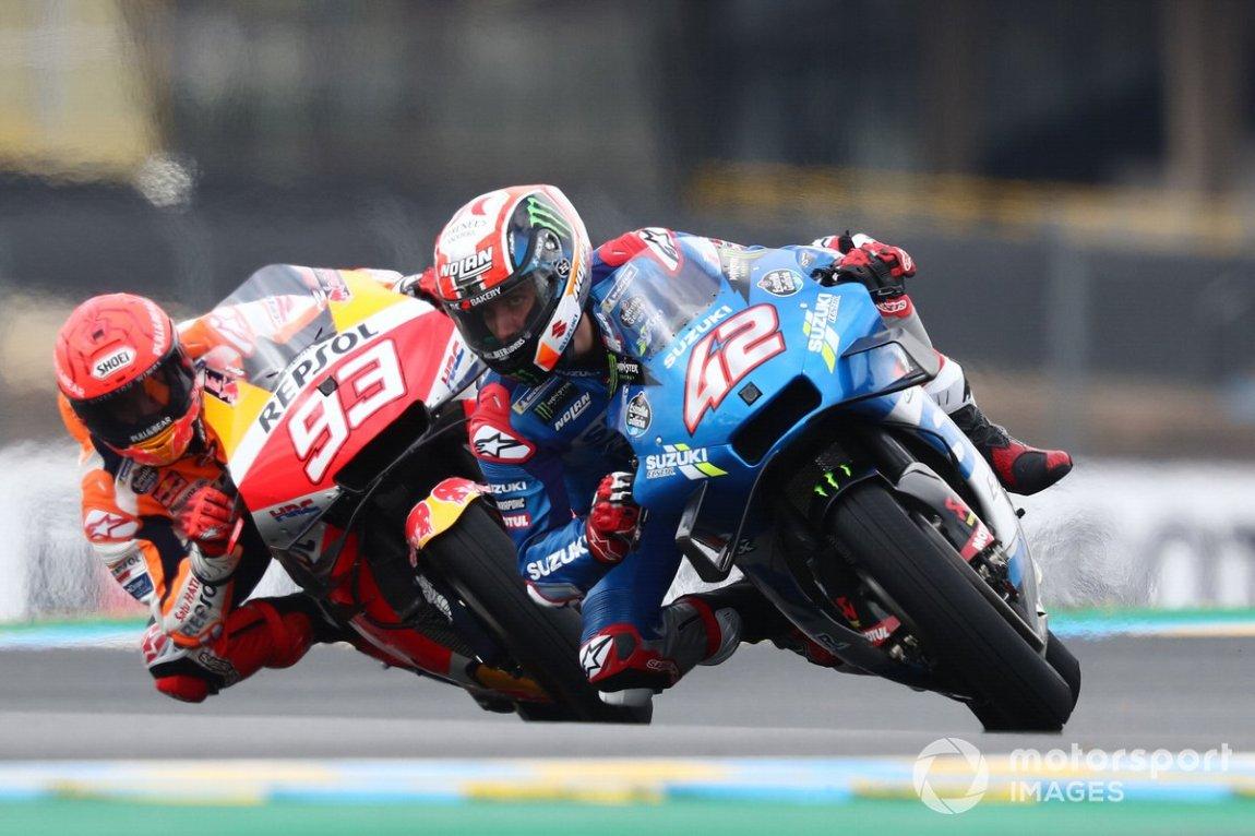Alex Rins, Suzuki MotoGP Team, Marc Márquez, Repsol Honda Team