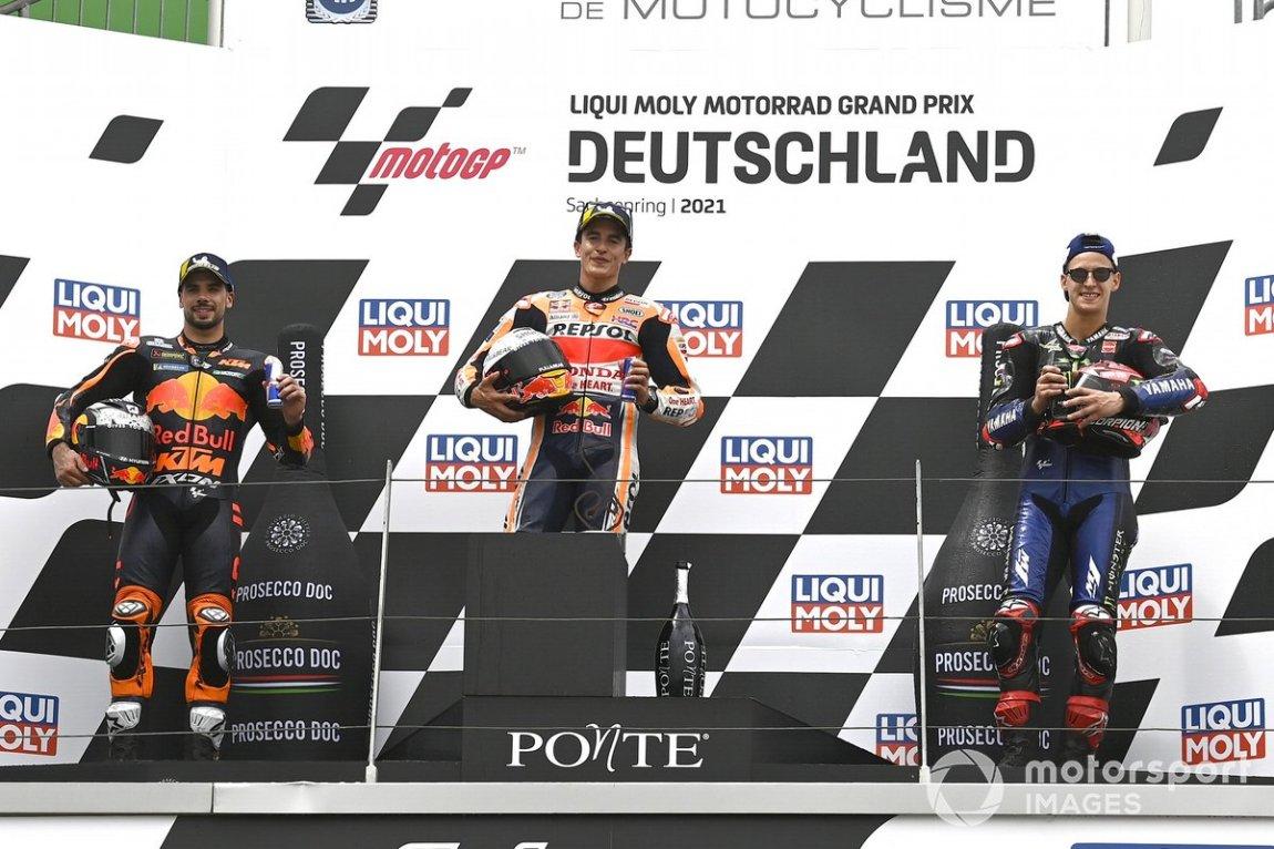 Miguel Oliveira, Red Bull KTM Factory Racing, Marc Márquez, Repsol Honda Team, Fabio Quartararo, Yamaha Factory Racing