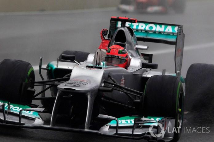 2012: adiós, Michael, la F1 siempre te recordará