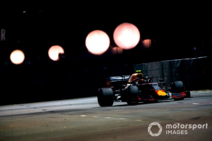 6º en el GP de Singapur