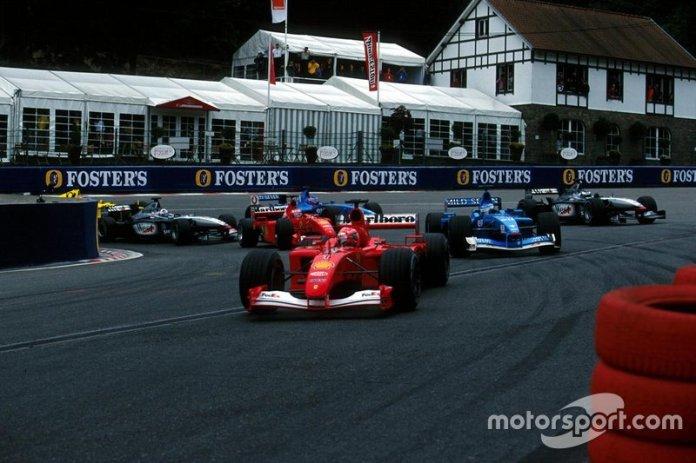 2001 Gran Premio de Bélgica