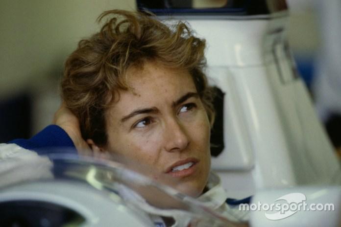 Giovanna Amati, GP de Sudáfrica, 1992.