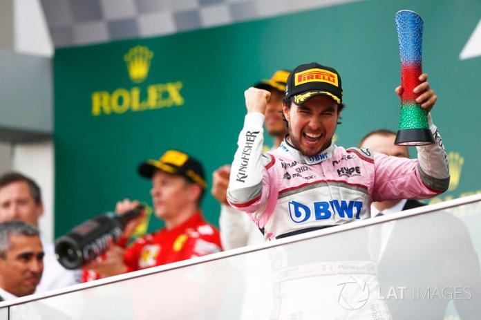 """¿Regresarán """"Checo"""" Pérez y Racing Point al podio?"""
