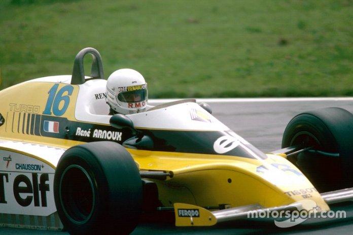 56: Rene Arnoux, Renault
