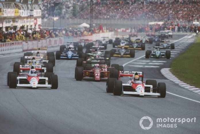 El acuerdo roto entre Senna y Prost, San Marino 1989