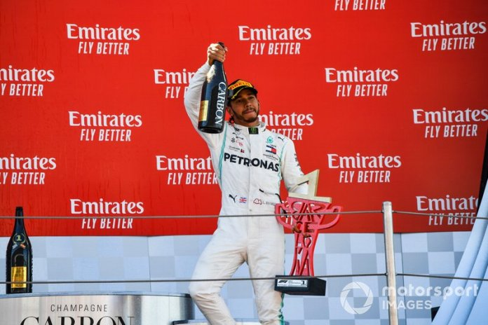 76 - GP de España 2019, Mercedes