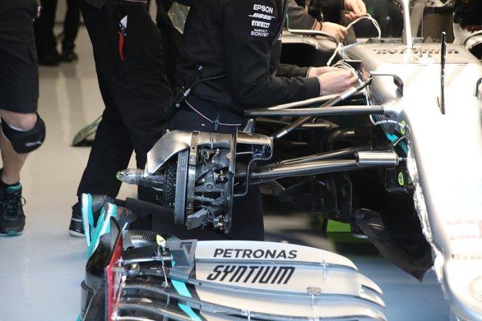 Freno del Mercedes AMG F1 W11