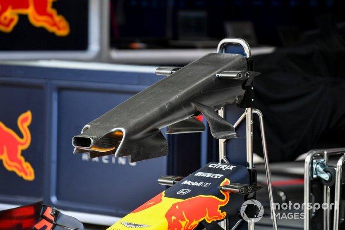 Alerón delantero del Red Bull Racing RB15