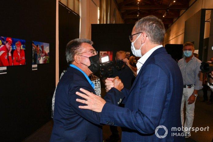Rainer Schlegelmilch and Stefano Domenicali