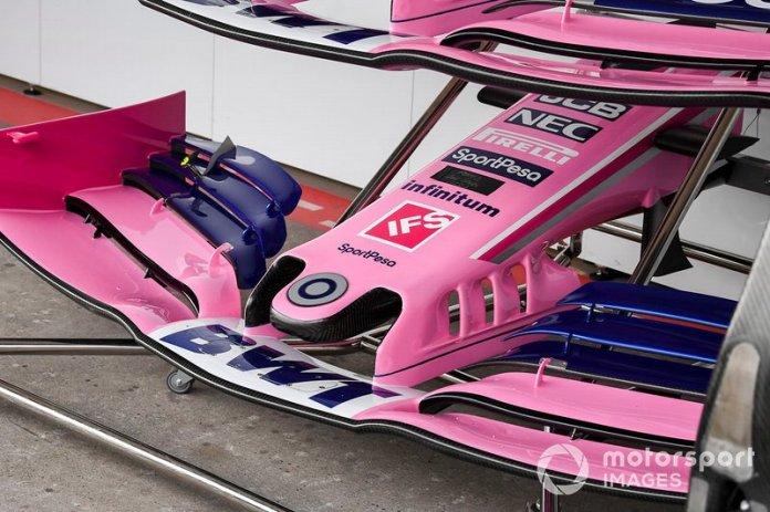Alerón delantero de Racing Point RP19