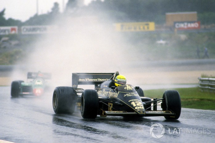 68: Ayrton Senna, Lotus 97T