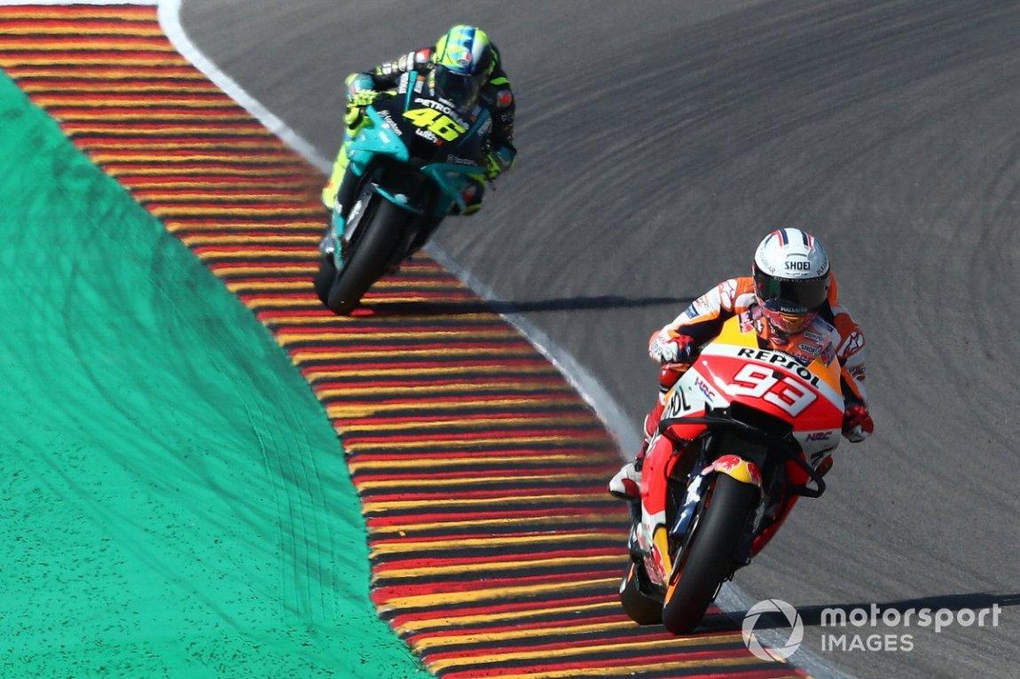 Marc Marquez, Repsol Honda Team, Valentino Rossi, Petronas Yamaha SRT
