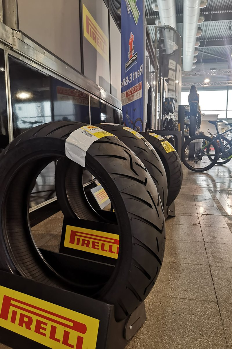 Pirelli Cup at the Motor Bike Expo