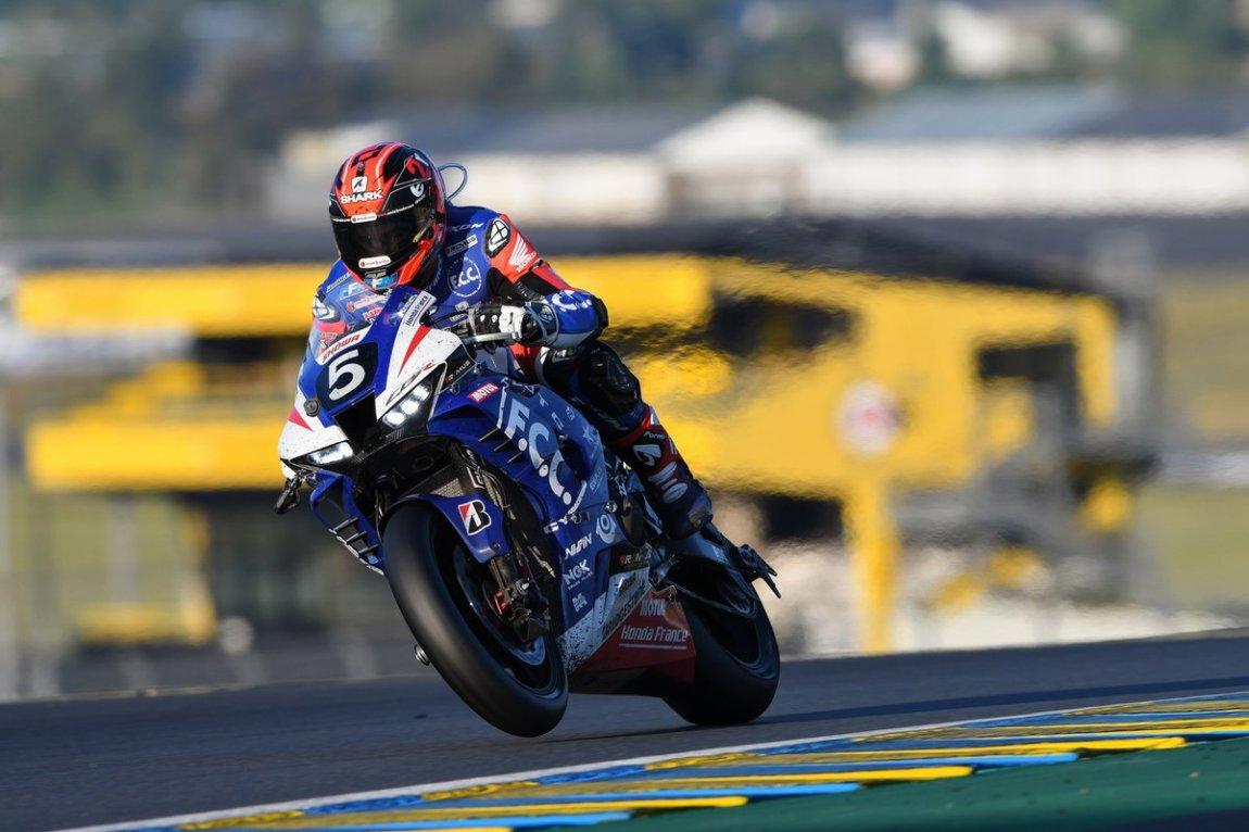 # 5 Honda FCC TSR: Josh Hook, Yuki Takahashi, Mike Di Meglio