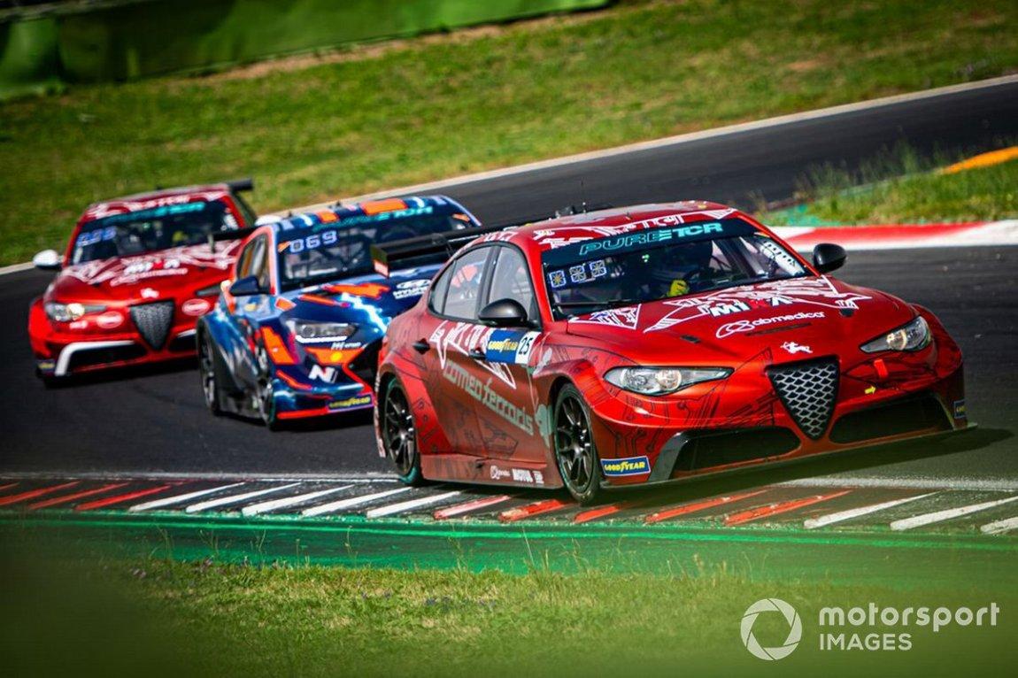 Luca Filippi, Romeo Ferraris M1RA, Alfa Romeo Giulia ETCR