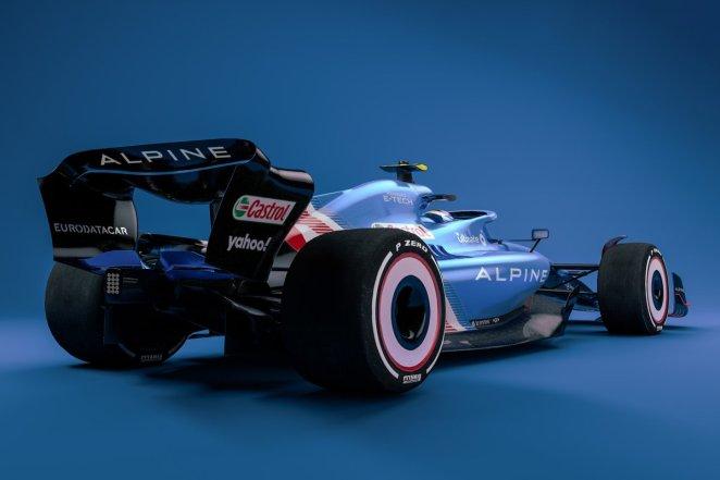 Alpine 2022 F1 car