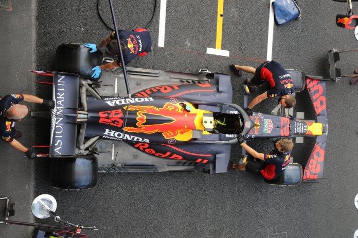 Red Bull Racing RB16 detalle