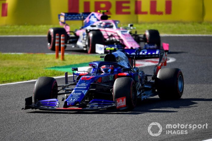 8 - Pierre Gasly, Toro Rosso STR14