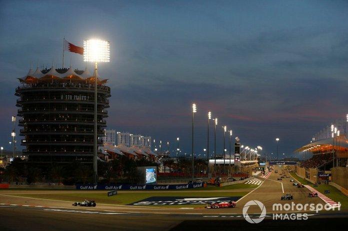 Bahréin 2016: Vettel no toma la salida por problema de motor.