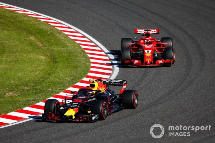 Japón 2018: un incidente intentando adelantar a Verstappen lo aleja de su opción de pelear el título.
