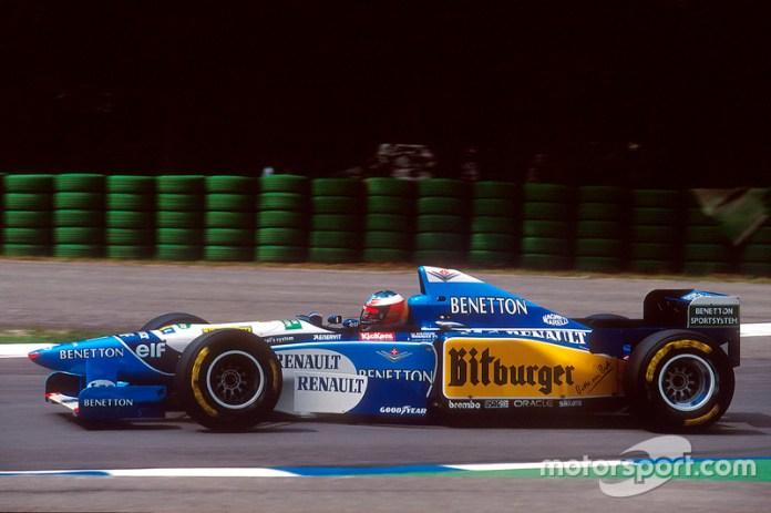 Ligier JS41 y Benetton B195