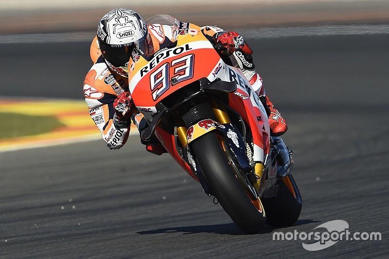 Valencia, Libere 3: Marquez e Vinales scavalcano Lorenzo, Rossi nono