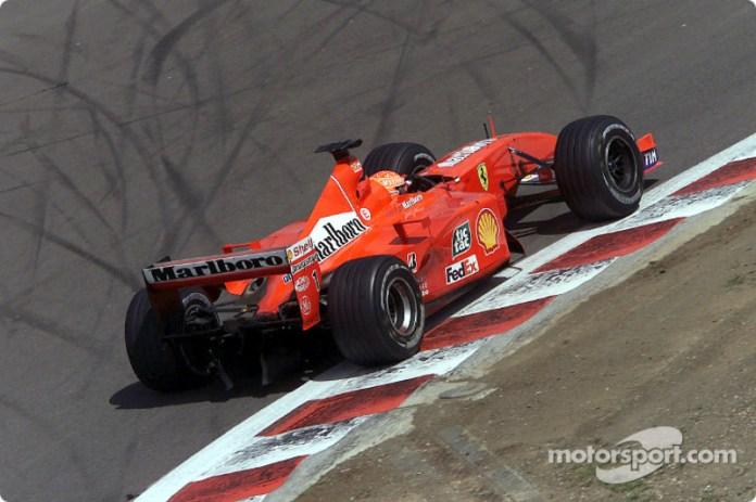 Ferrari F2001 - 10 victorias