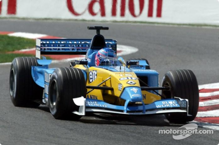 2002: Renault R202