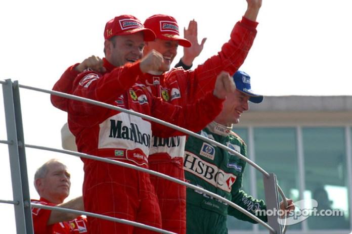 2002: Rubens Barrichello, Ferrari F2002