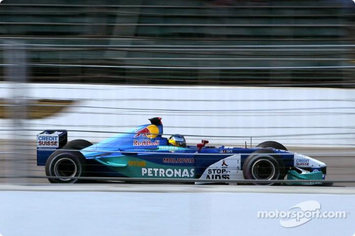 Nick Heidfeld, Sauber-Petronas C21, 2002
