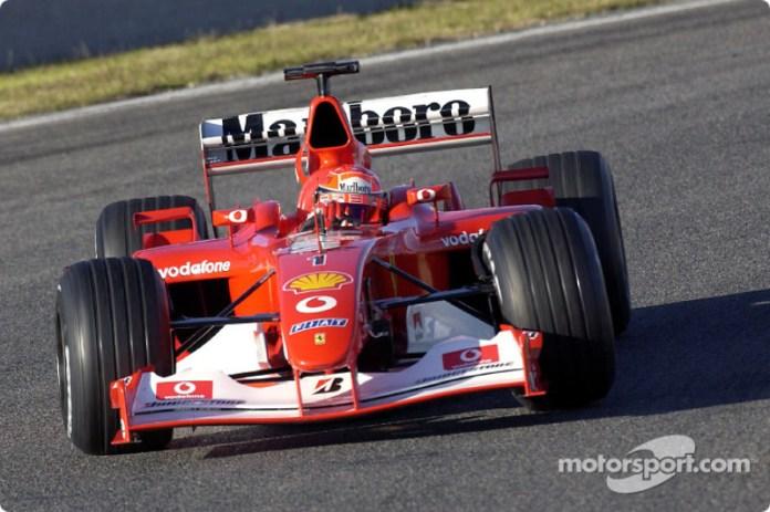 Ferrari - Temporada 2003